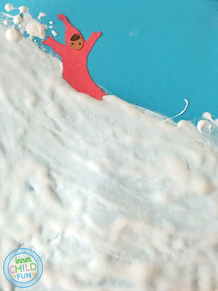 The Snowy Day Craft for Kids