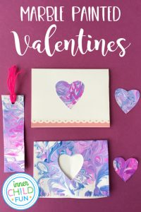 837d54668a Marble painted Valentines are a great handmade gift that kids can make with  stunning results! I love how each print is completely unique.