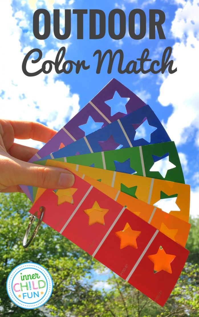 Outdoor Color Match Activity