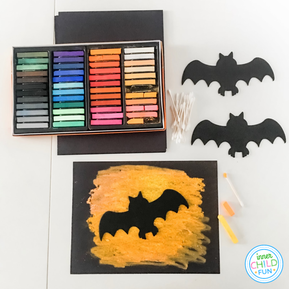 Easy Halloween Art Project For Kids Inner Child Fun