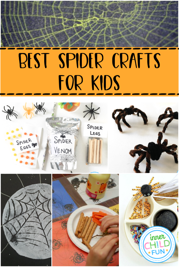 Best Spider Crafts for Kids - Halloween Crafts