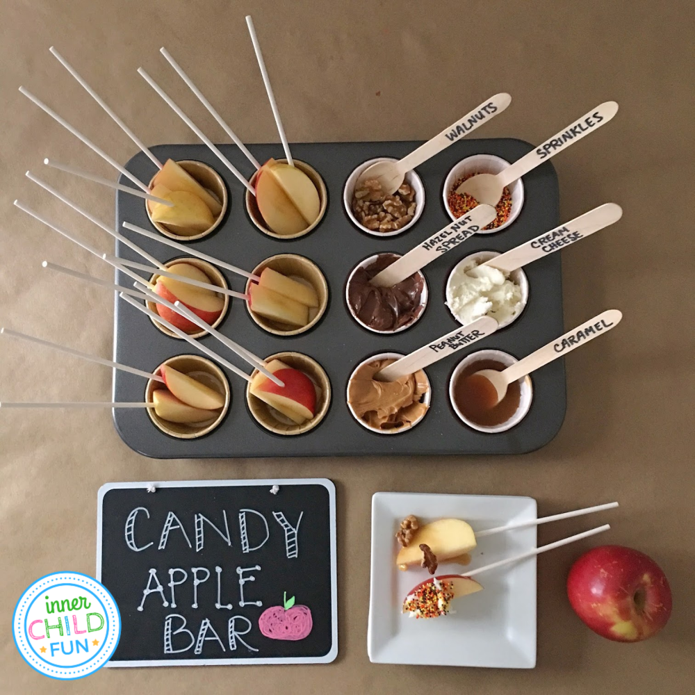 DIY Candy Apple Bar