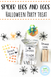 Spider Legs and Eggs - Halloween Party Treat