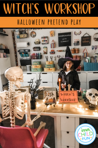 Witch's Workshop - Halloween Pretend Play