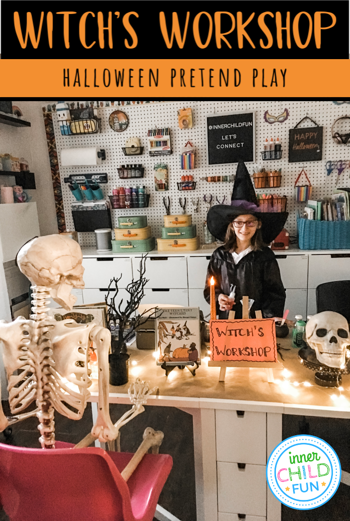 Halloween Pretend Play - Witch's Workshop
