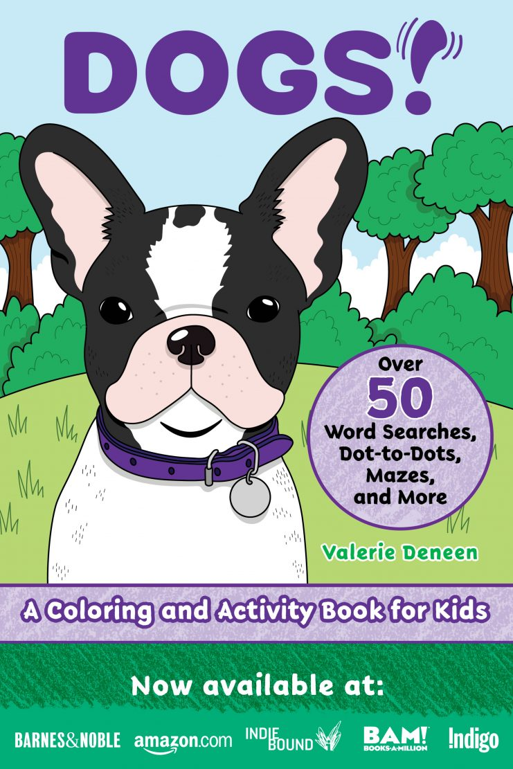 DOGS! Coloring and Activity Book for Kids