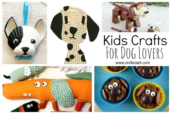 Kids Crafts for Dog Lovers