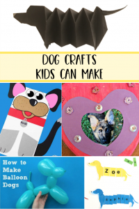 Dog Crafts Kids Can Make (EASY)