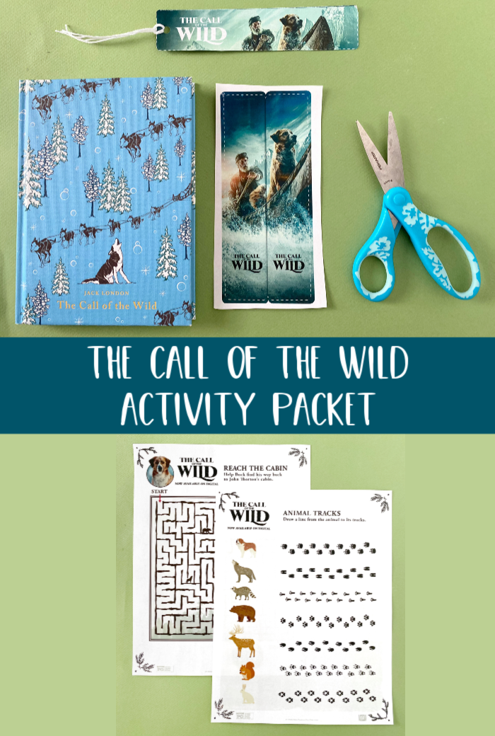The Call of the Wild Activity Packet Free Printable