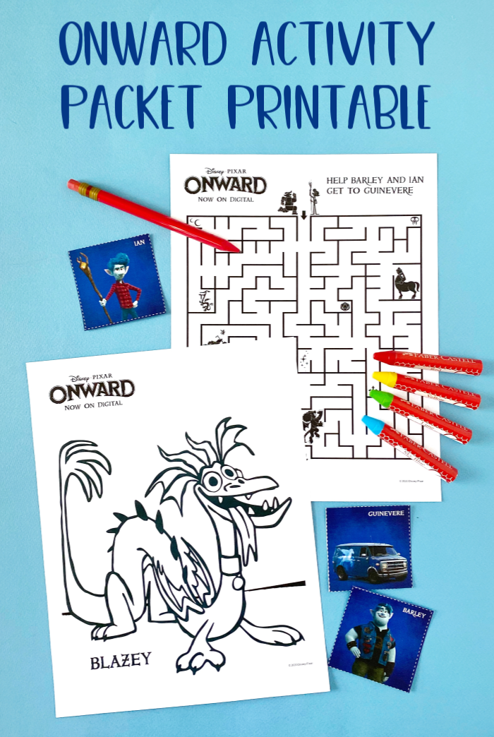 Onward Activity Packet Printable