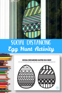 Social Distancing Egg Hunt