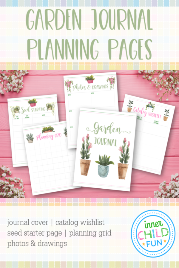 Garden Journal Planning Pages