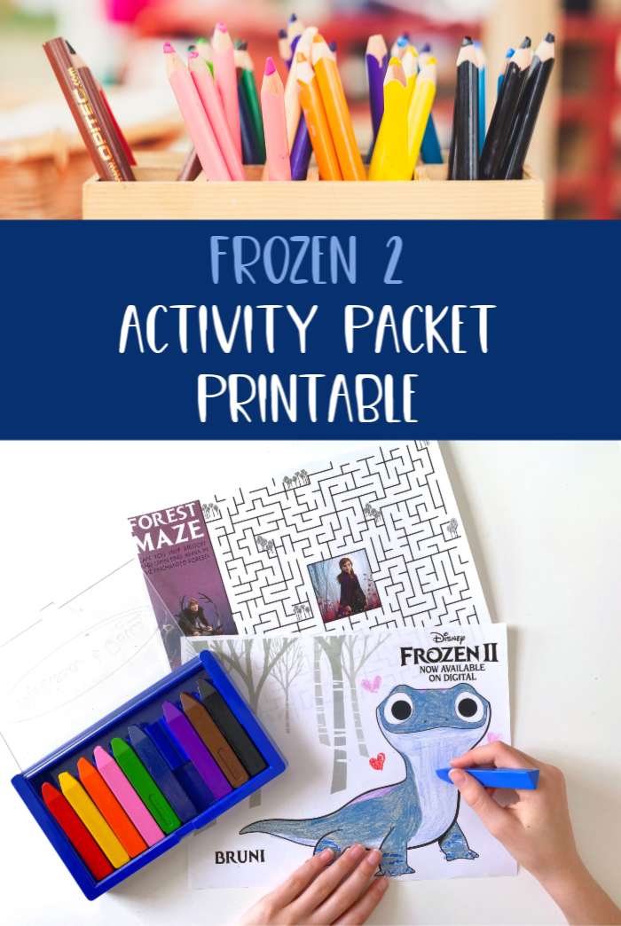 Frozen 2 Activity Packet Free Printable Coloring Pages, Maze, Bookmarks, and more!