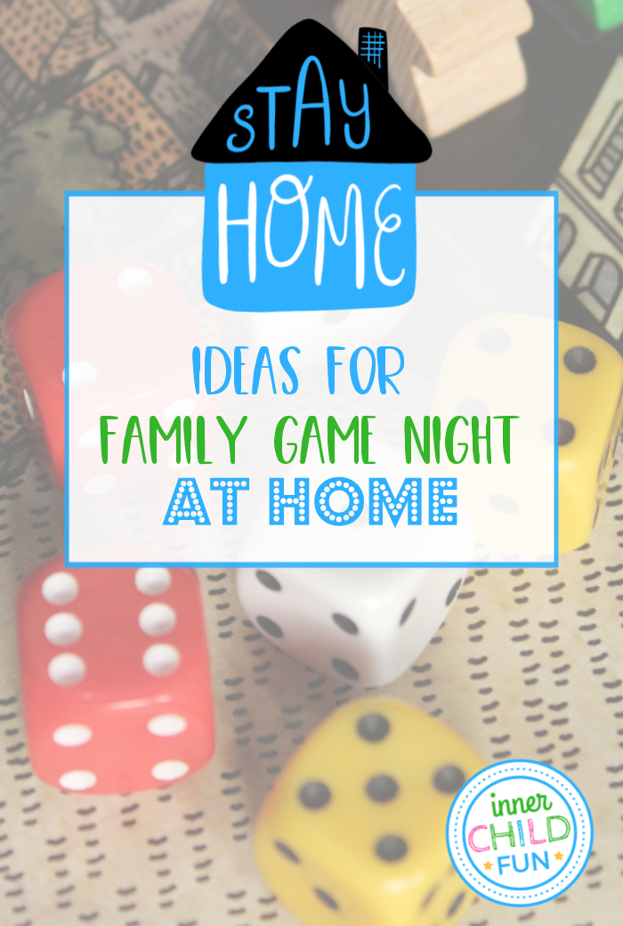 Ideas for Family Game Night at Home