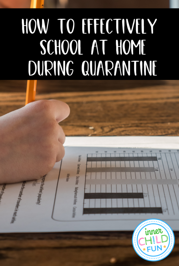 How to Effectively School at Home During Quarantine