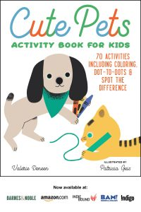 Cute Pets Activity Book for Kids