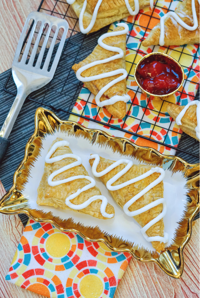 EASY Air Fryer Recipe - Strawberry Turnover Treats