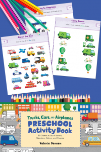 Free Printable Preschool Activity Packet