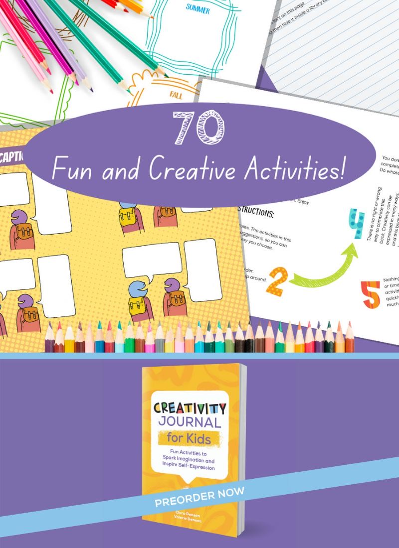 Free Printable Creativity Journal Pages