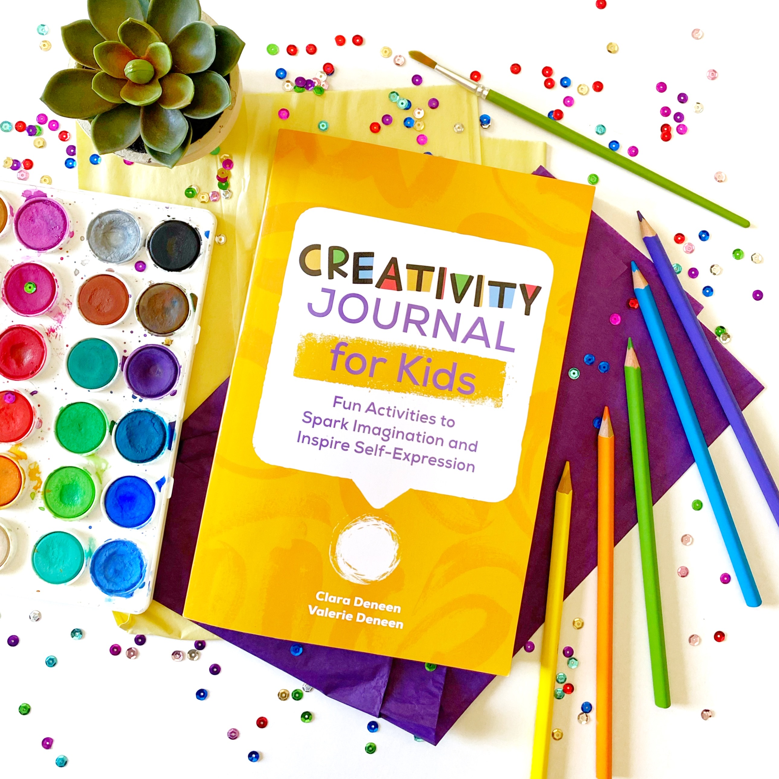 Creativity Journal for Kids - Fun activities to spark imagination and inspire self-expression